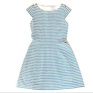 [Lilly Pulitzer] Blue And White Striped Dress